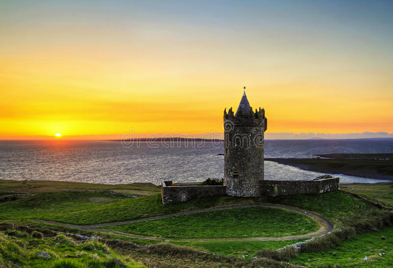 Download Sunset at the castle - HDR stock photo. Image of nature - 14206846