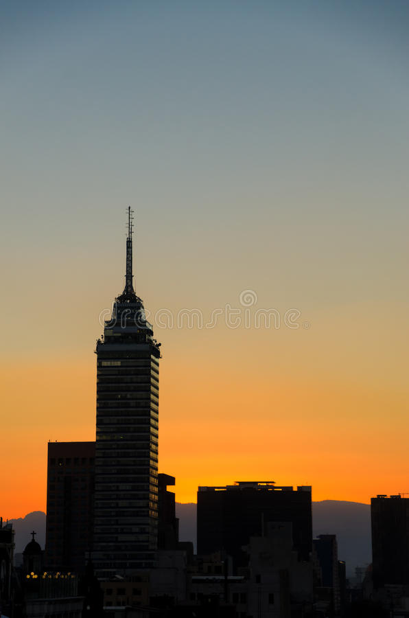Sunset Cityscape royalty free stock photo