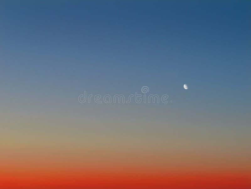 Sunset Clear Sky Stock Photo