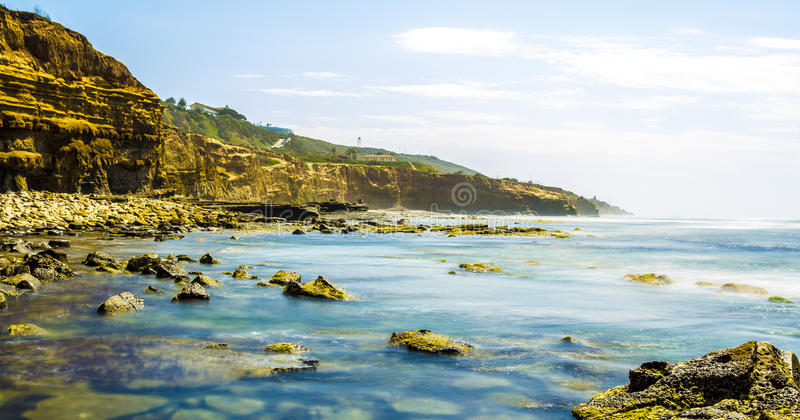 Sunset cliffs ave stock photos