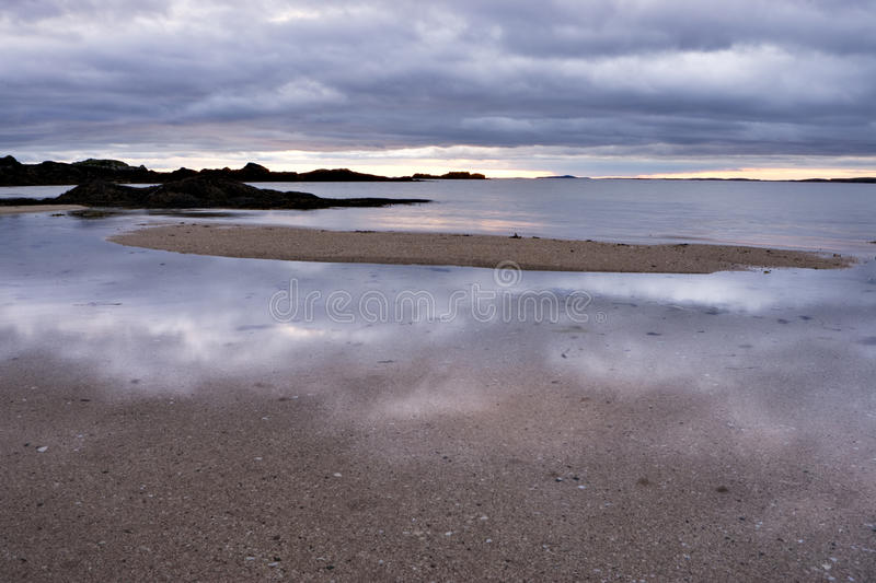 Download Sunset And Cloud Reflection Stock Photo - Image: 14811636