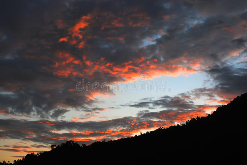 Download Sunset clouds stock photo. Image of yellow, blue, sunset - 11659716