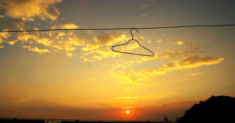 Download Sunset clouds stock image. Image of disinfect, escape - 7559479