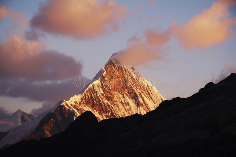 Download Sunset in Cordilleras stock photo. Image of achievement - 1424508