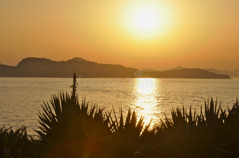 Download Sunset In Crotia Royalty Free Stock Image - Image: 25985216