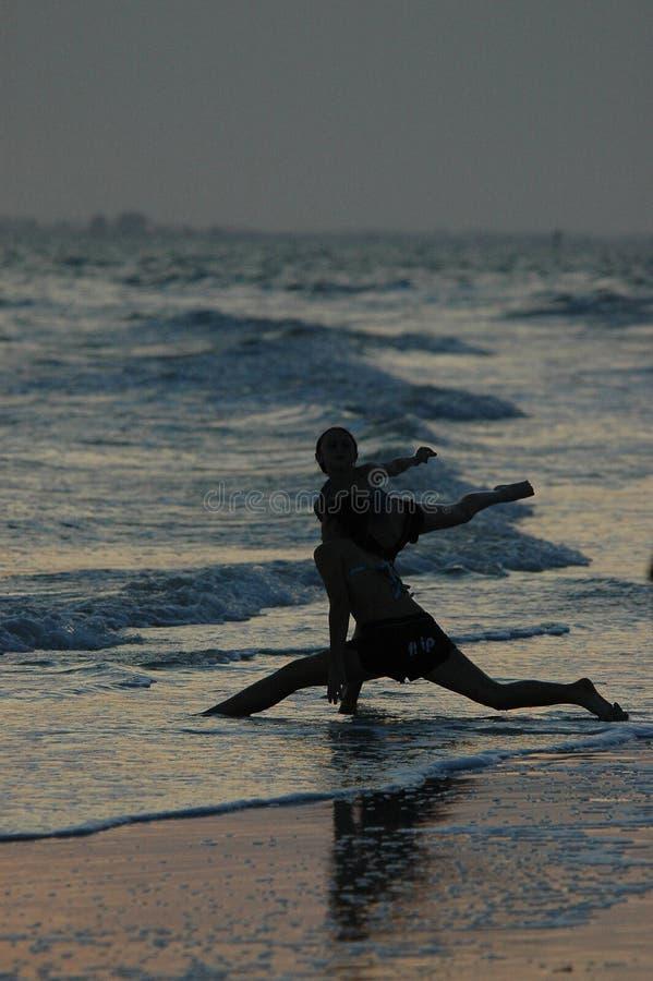 Sunset Dancers Stock Image