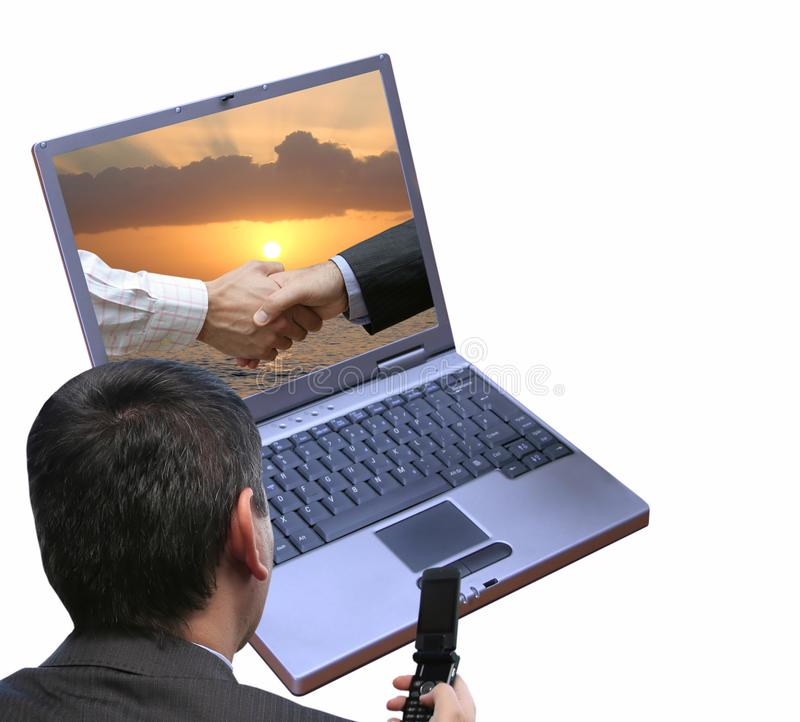Sunset deal stock photography