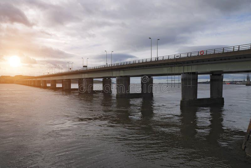 Sunset Dundee Bridge, Scotland