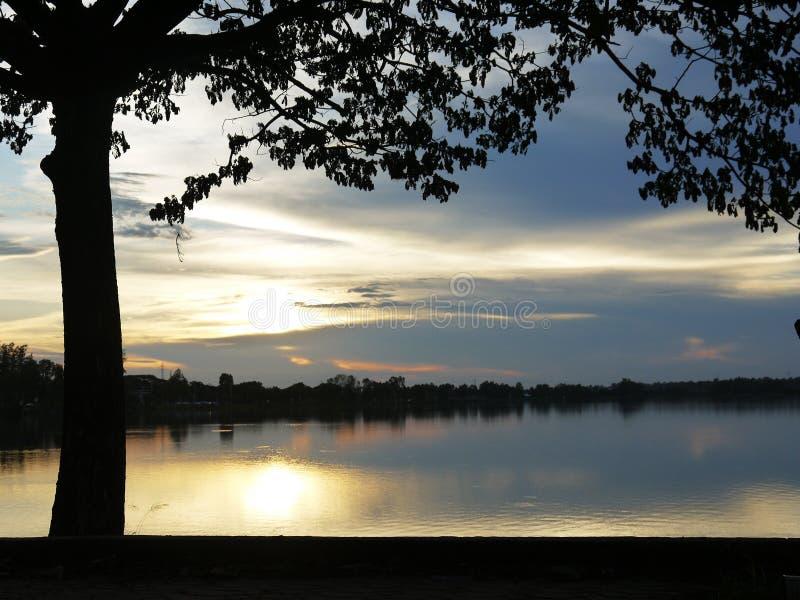 Sunset038en arkivfoto