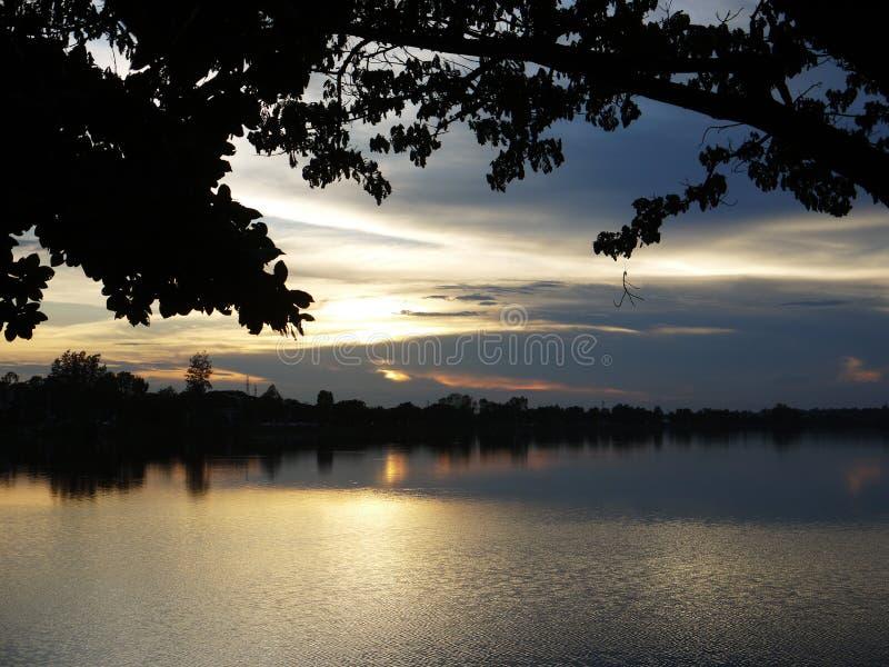 Sunset037en royaltyfria bilder