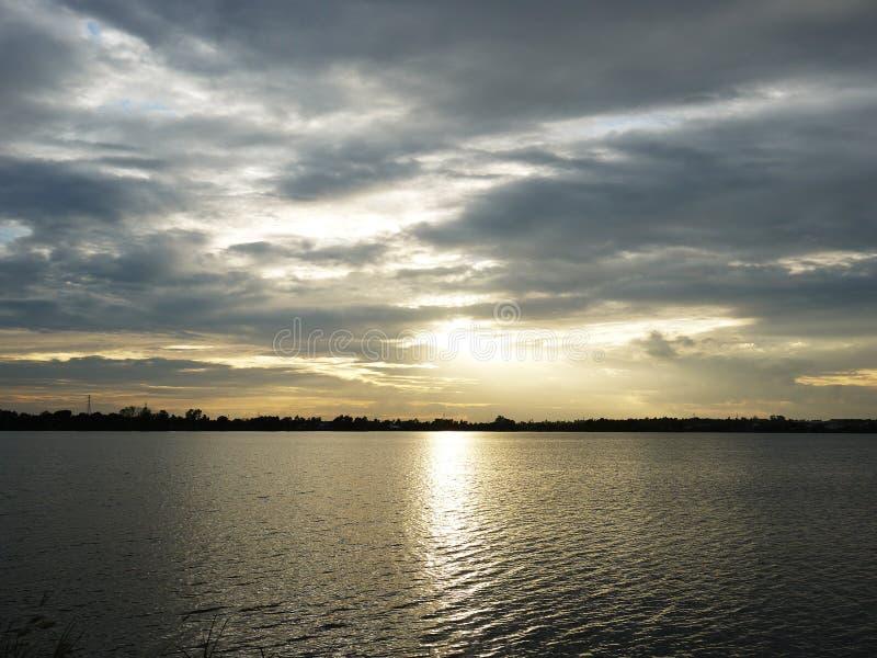 Sunset017en royaltyfria bilder