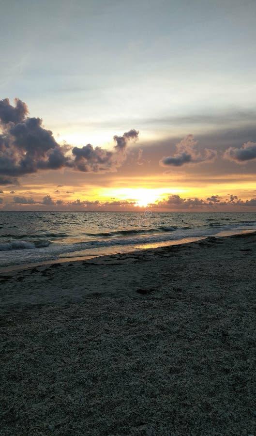 Englewood, FL at Sunset stock image. Image of florida ...