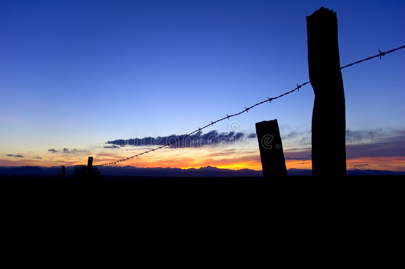 Download Sunset At The Farm Stock Images - Image: 123624