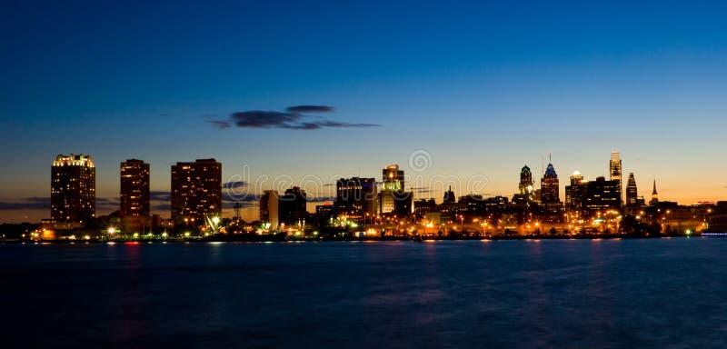 sunset filadelfii fotografia royalty free