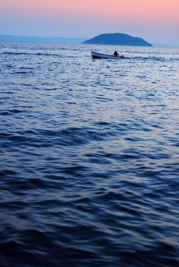 Download Sunset fishing stock photo. Image of sport, craft, nature - 3075278