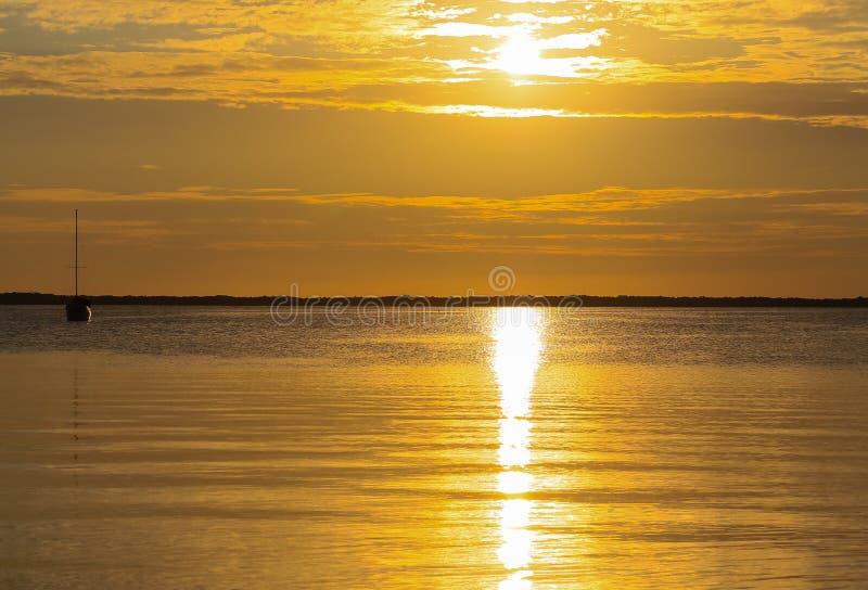 Sunset in the Florida Keys stock photos