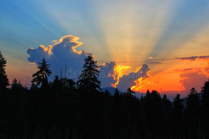 Sunset... stock photos