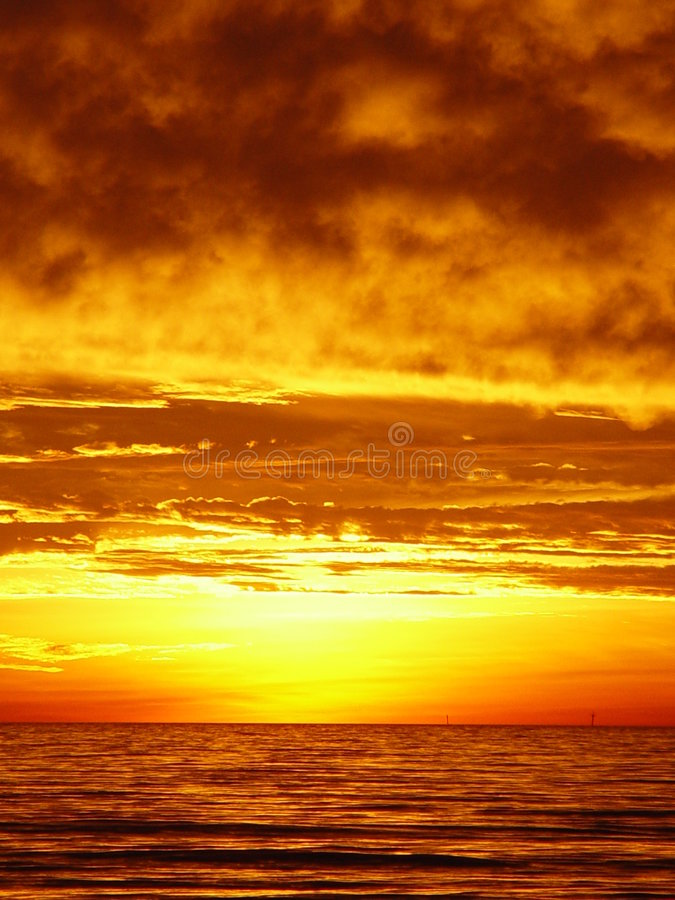 Download Sunset In Fort Myers Stock Image - Image: 847431