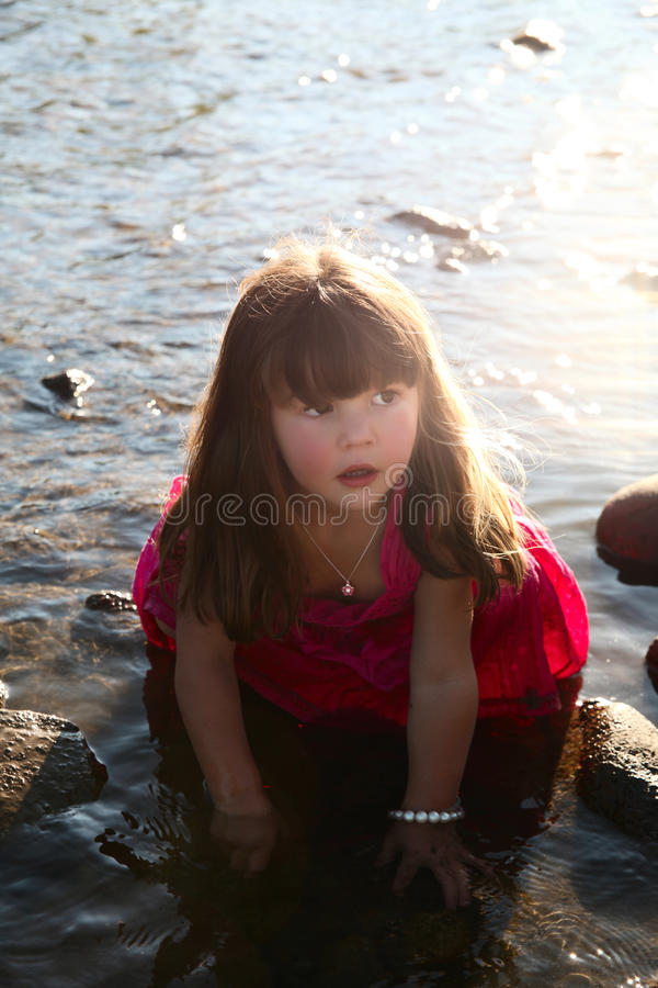 Free Sunset Girl Royalty Free Stock Photography - 46476377