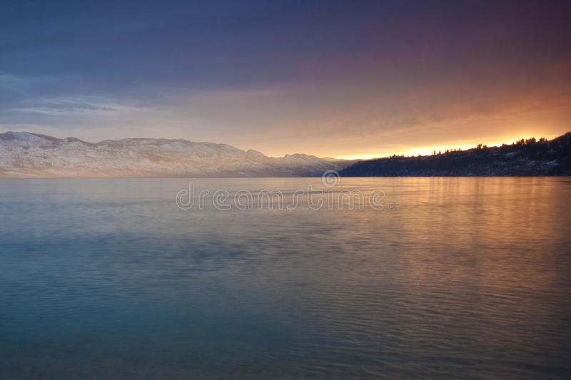 Download Sunset Glow stock image. Image of shore, vibrant, dock - 25941145