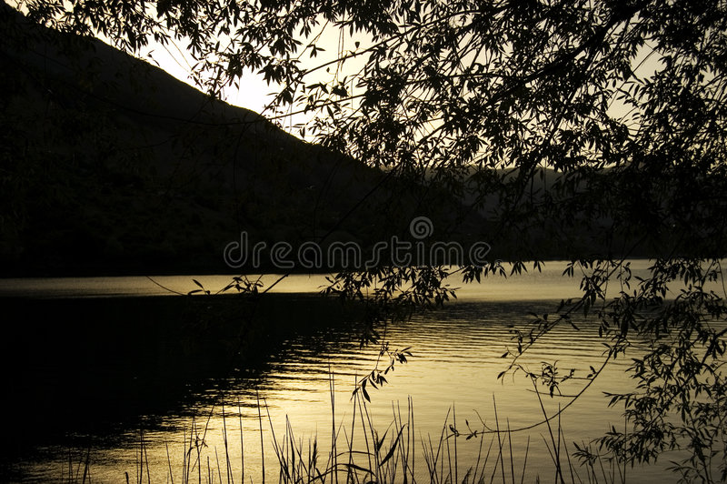 Download Sunset Golden Royalty Free Stock Photos - Image: 6105718
