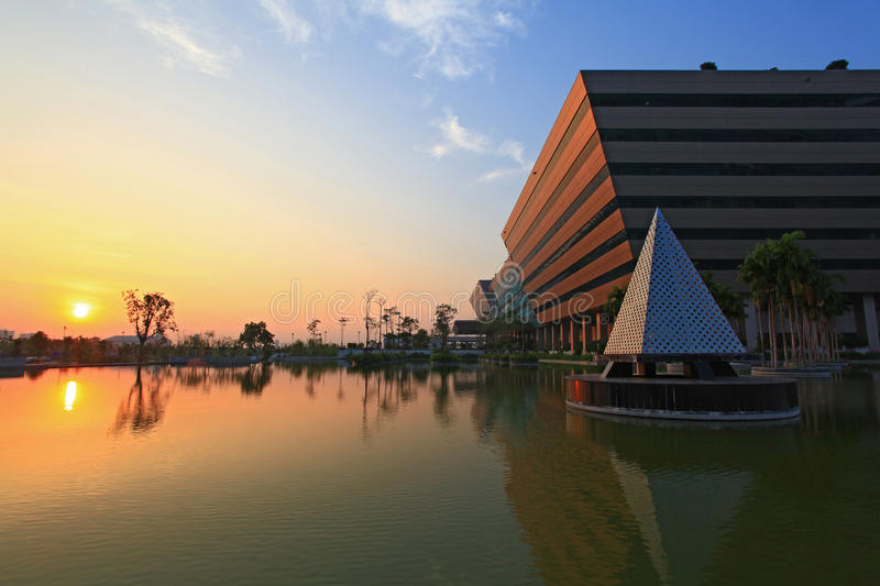 Download Sunset At Government Complex Editorial Stock Photo - Image: 17999243