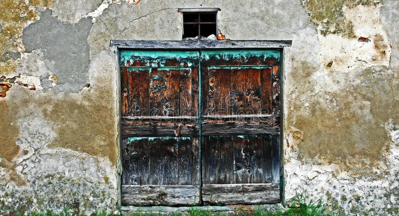 the stables old door stock photo