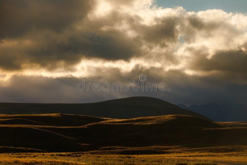 Download Sunset hills stock image. Image of hills, light, sunset - 23492287