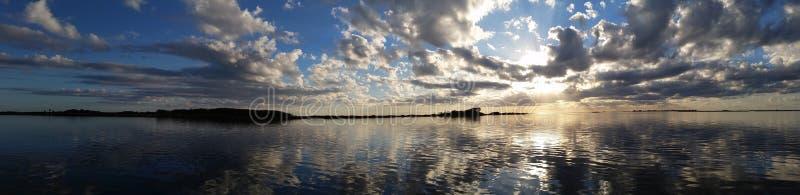 Sunset Horizon royalty free stock photography