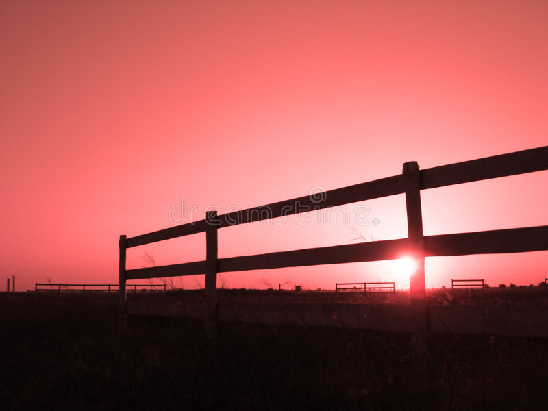 Download Sunset on a horse stable stock image. Image of board, countryside - 2700309