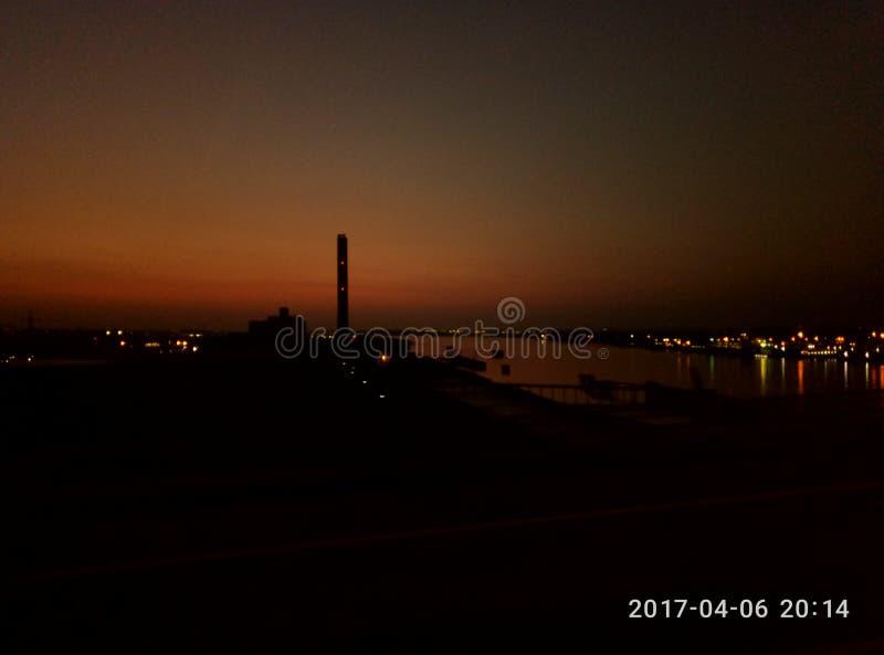 Sunset stock photography
