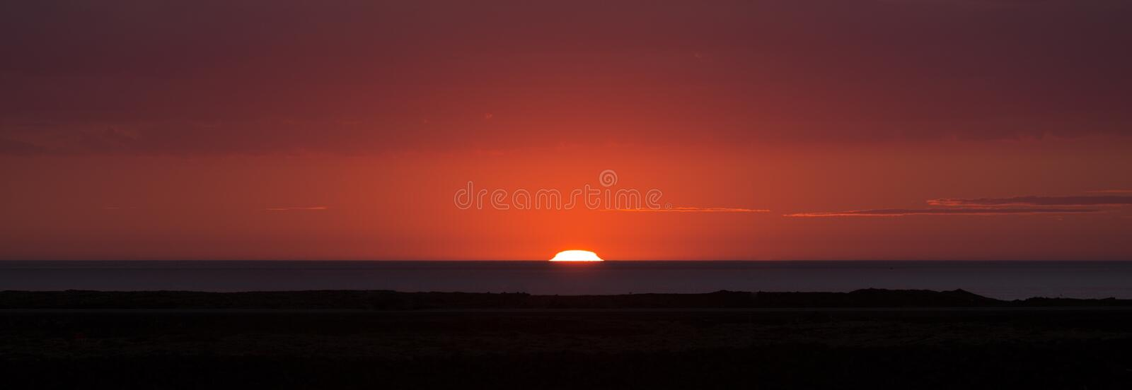 Download Sunset in Iceland stock photo. Image of beauty, dawn - 26291644