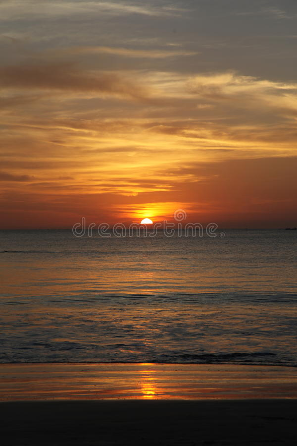 Free Sunset In Bali Island Stock Images - 32739924