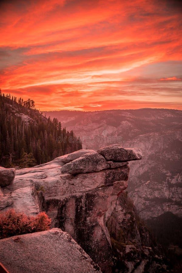 Free Sunset In Yosemite Vally Stock Photos - 193337173