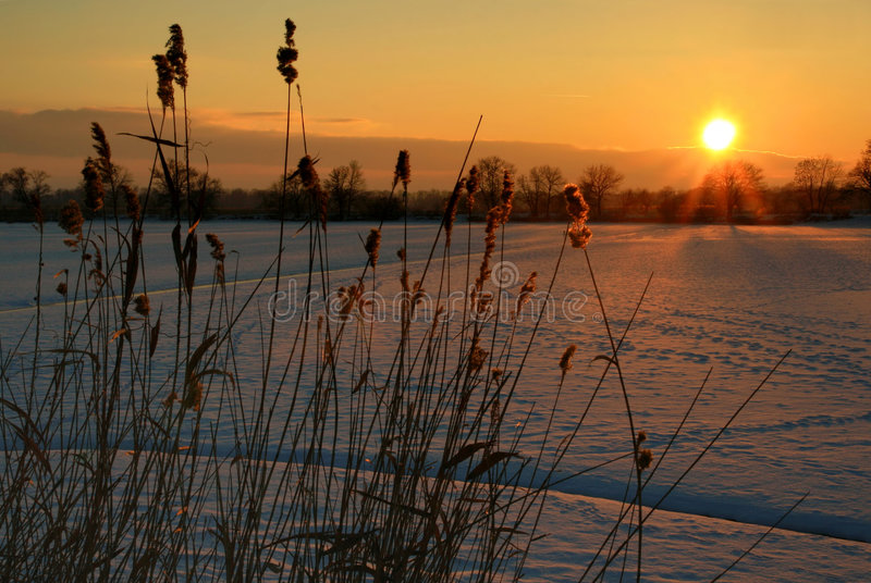 Sunset IV. stock photography