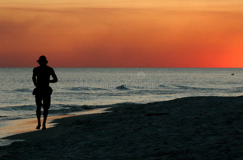 Download Sunset Jog Stock Photography - Image: 77302