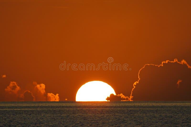 Sunset in the Keys stock photo