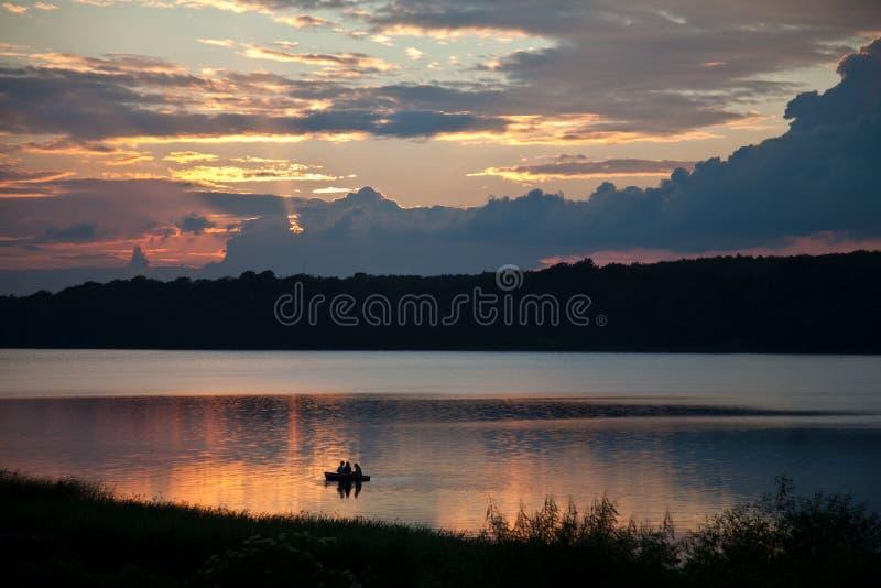 Lake leisure stock image