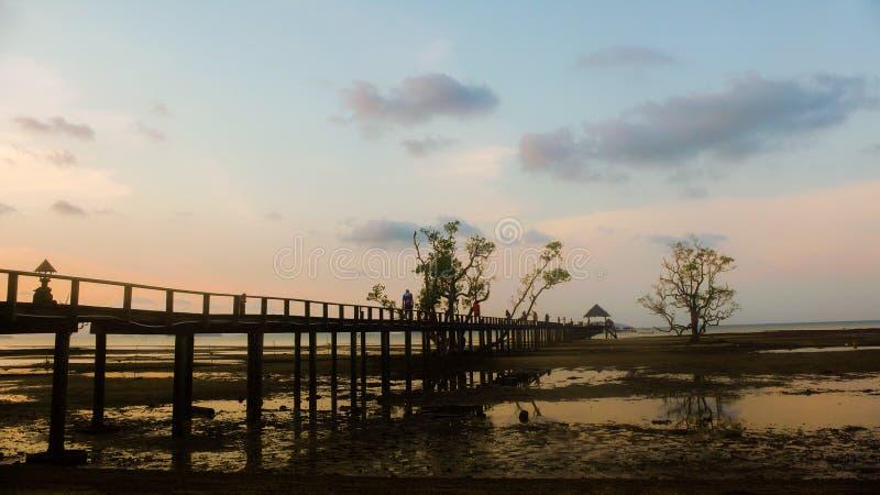 Sunset on the lake. Sunset ont lake beach light sea sky stock images
