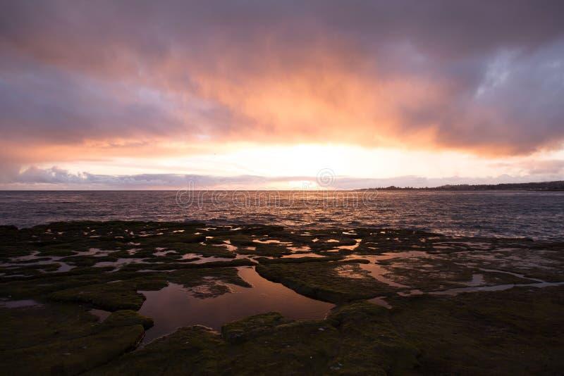 Sunset landscape royalty free stock images
