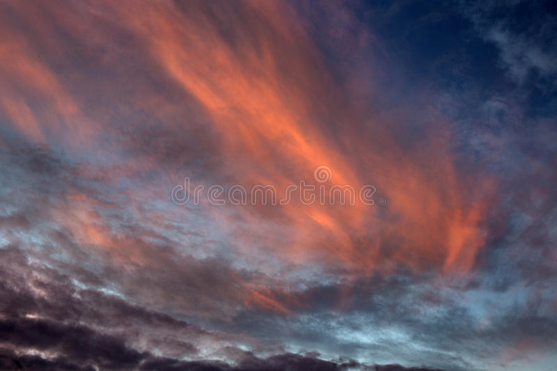 Sunset at Loxahatchee royalty free stock image