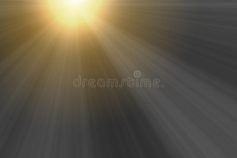 Sunset luminous rays for overlay design royalty free stock images