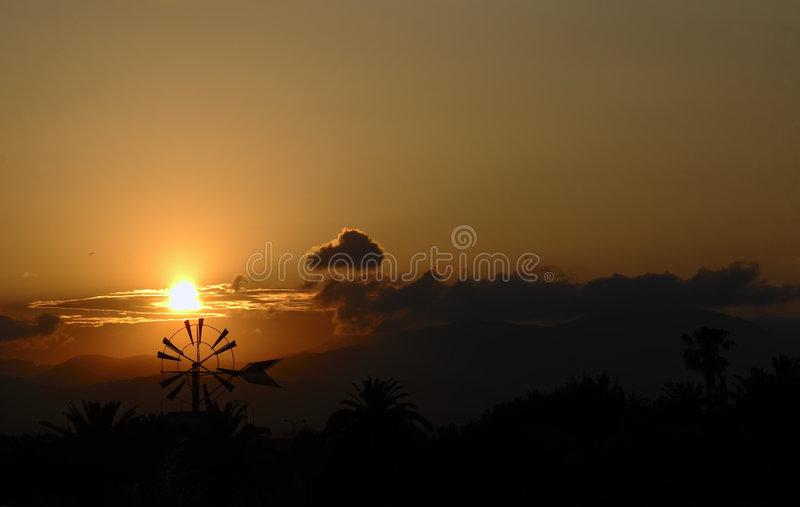 Download Sunset In Mallorca Royalty Free Stock Photography - Image: 2546627