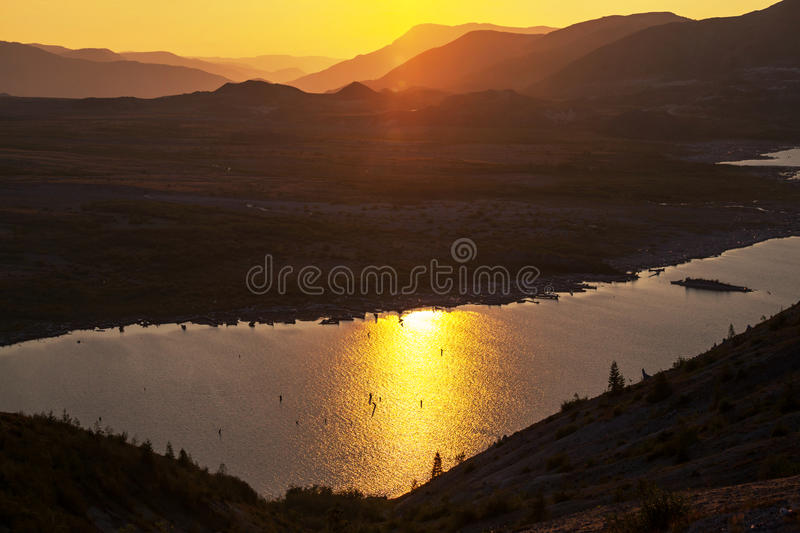 Download Sunset in mountains stock photo. Image of sunset, outdoor - 32262314
