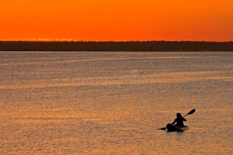 sunset mozambiku obrazy stock