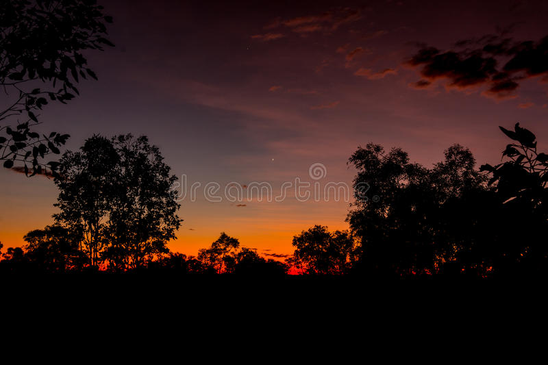Download Sunset stock image. Image of kimberleys, colorful, blue - 78444025