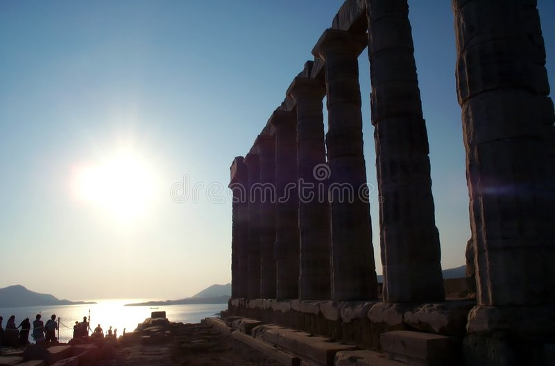 Download Sunset near temple stock photo. Image of historical, temple - 386