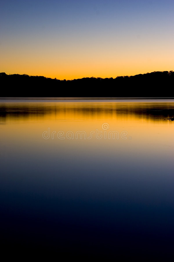 Free Sunset On Lake Reflection Stock Photography - 34242