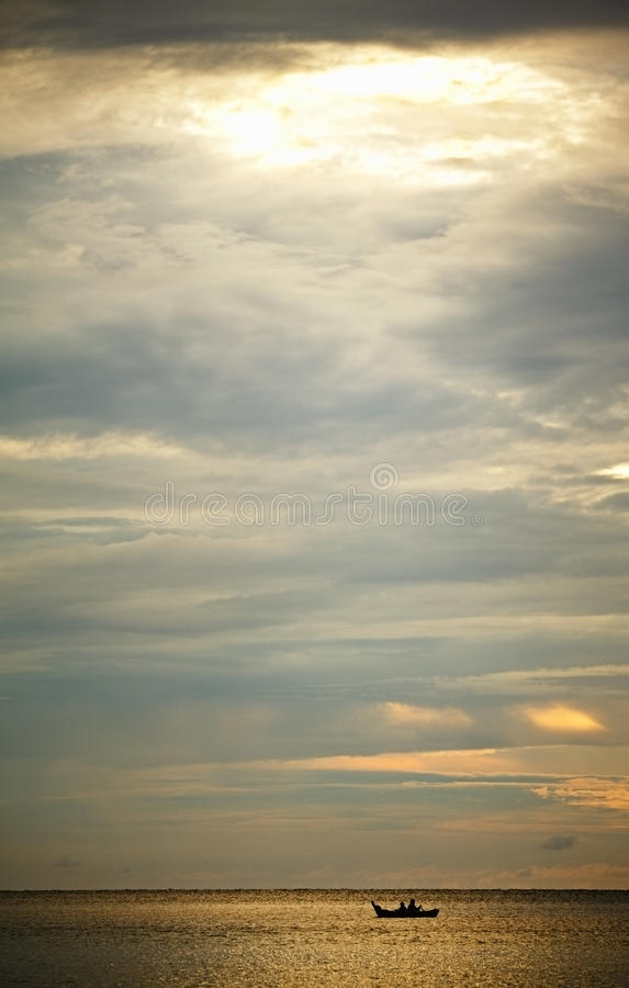 Sunset Over Andaman Sea Royalty Free Stock Image