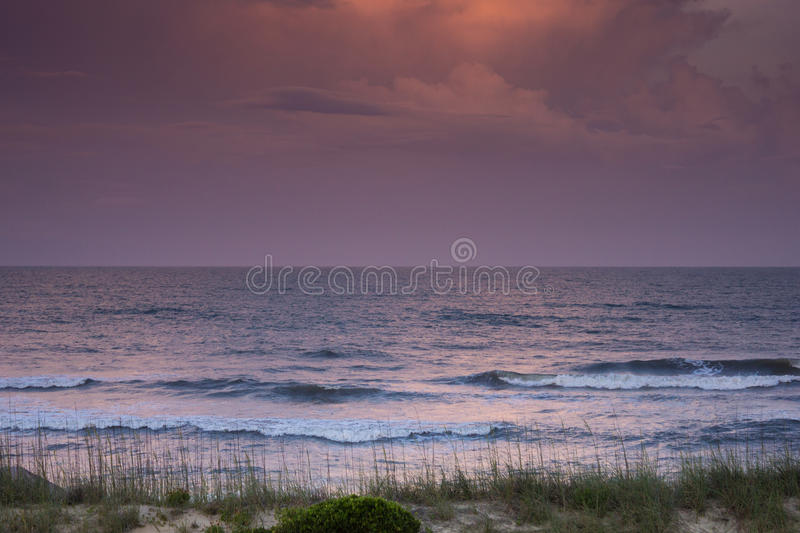 Sunset over the Atlantic royalty free stock photo